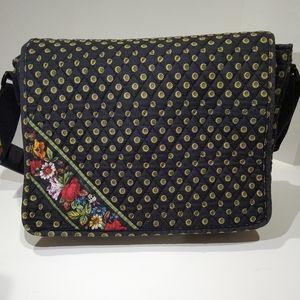 Vera Bradley cross-body Messenger/Laptop bag